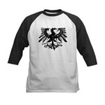 Gothic Prussian Eagle Kids Baseball Jersey