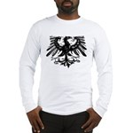 Gothic Prussian Eagle Long Sleeve T-Shirt