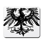 Gothic Prussian Eagle Mousepad
