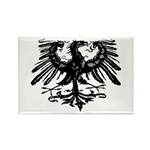 Gothic Prussian Eagle Rectangle Magnet (100 pack)