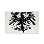 Gothic Prussian Eagle Rectangle Magnet (10 pack)