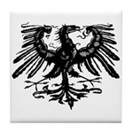 Gothic Prussian Eagle Tile Coaster