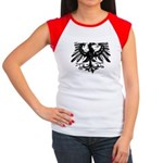 Gothic Prussian Eagle Women's Cap Sleeve T-Shirt