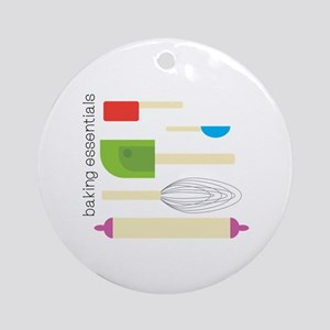 Baking Essentials Ornament (Round)