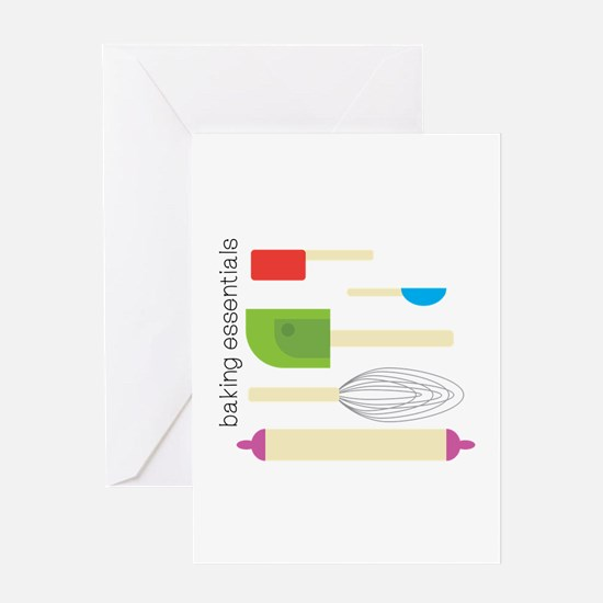 Baking Essentials Greeting Cards