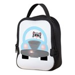 Driving Cat Neoprene Lunch Bag