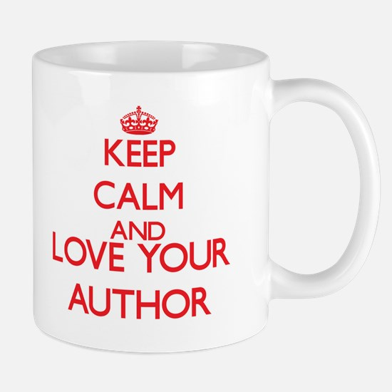 Keep Calm and love your Author Mugs