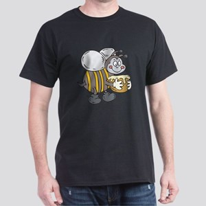 Happy Honey Bee Dark T-Shirt