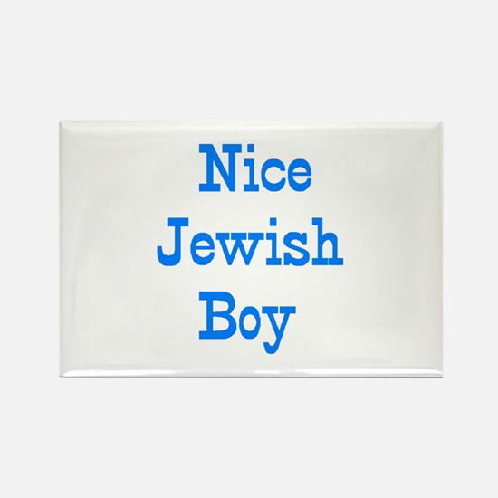 jewish boy Rectangle Magnet
