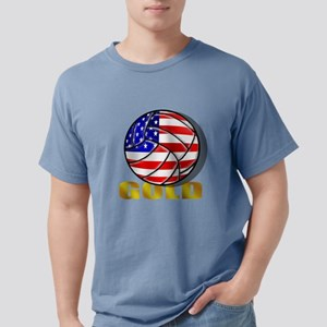USA Volleyball Mens Comfort Colors Shirt