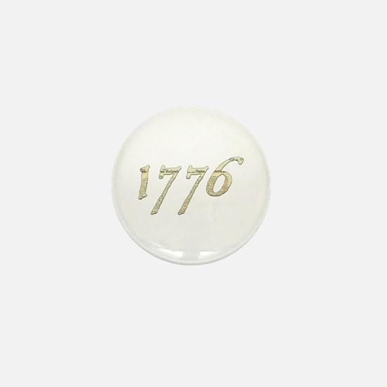 "Independence ""1776"" Mini Button"