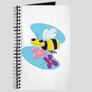 Happy Buzzing Bumble Bee Journal