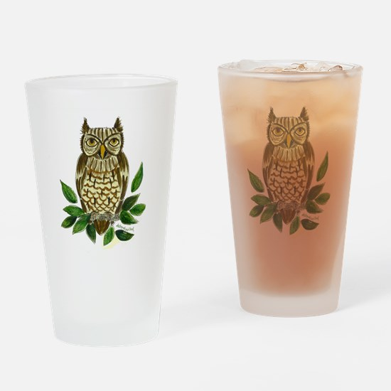 Marley's Owl Drinking Glass