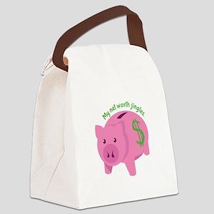 Net Worth Canvas Lunch Bag