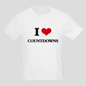 I love Countdowns T-Shirt