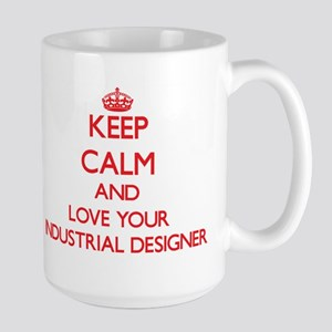 Keep Calm and love your Industrial Designer Mugs