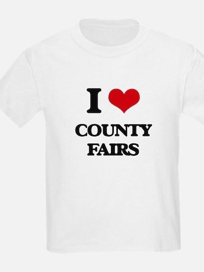 I love County Fairs T-Shirt