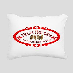 ovaltransthqueens Rectangular Canvas Pillow