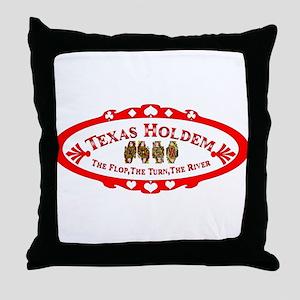 ovaltransthqueens Throw Pillow