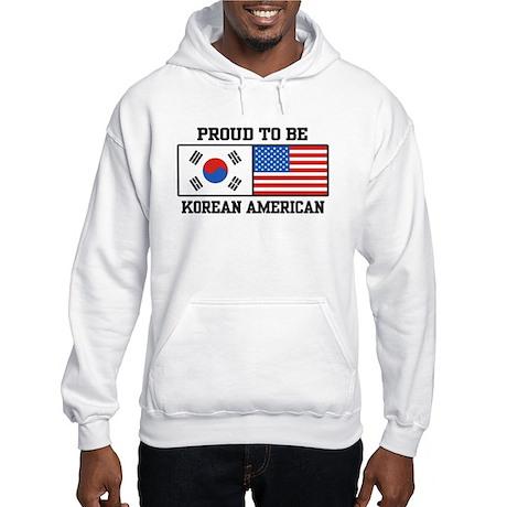 Korean American Hooded Sweatshirt