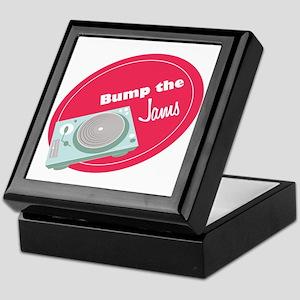 Bump the Jams Keepsake Box