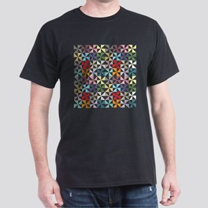 Colorful Geometric Pinwheel T-Shirt