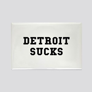 Detroit Sucks Rectangle Magnet