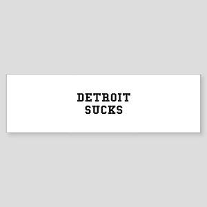 Detroit Sucks Bumper Sticker