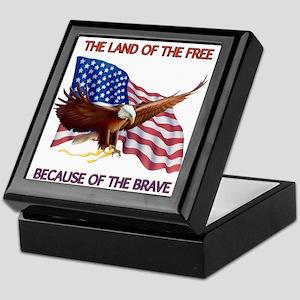 Land of the Free... Keepsake Box