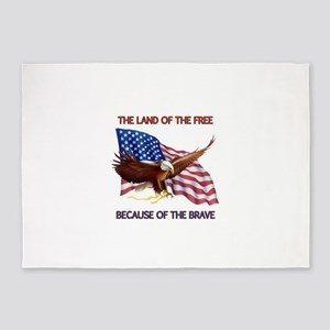 Land of the Free... 5'x7'Area Rug