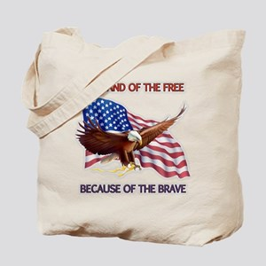 Land of the Free... Tote Bag