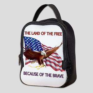 Land of the Free... Neoprene Lunch Bag