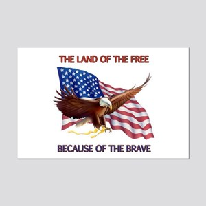 Land of the Free... Mini Poster Print