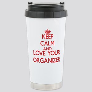 Keep Calm and love your Stainless Steel Travel Mug