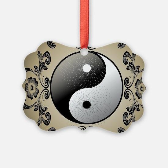 Ying and yang Ornament