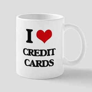I love Credit Cards Mugs