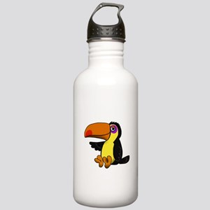 Chillin Toucan Stainless Water Bottle 1.0L