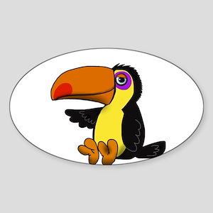 Chillin Toucan Sticker