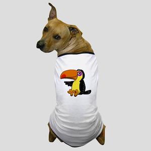 Chillin Toucan Dog T-Shirt