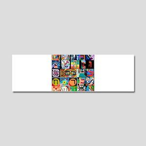 The Hebrew Alphabet Car Magnet 10 x 3