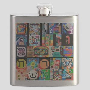 The Hebrew Alphabet Flask