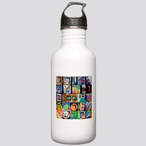 The Hebrew Alphabet Water Bottle