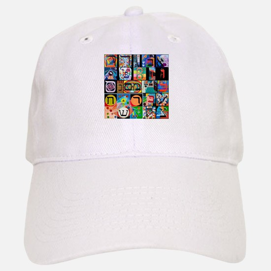 The Hebrew Alphabet Baseball Baseball Baseball Cap