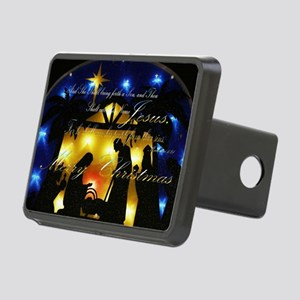 Baby Jesus Rectangular Hitch Cover