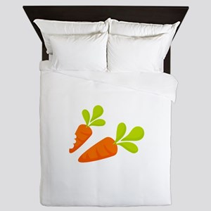 Two Carrots Queen Duvet