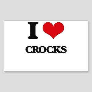I love Crocks Sticker