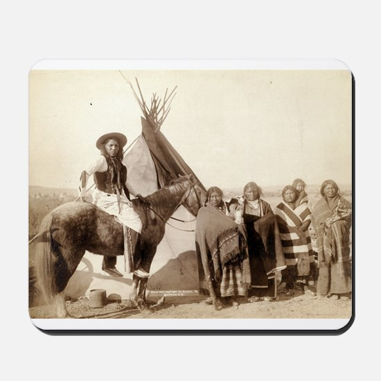 A pretty group at an Indian tent - John Grabill -