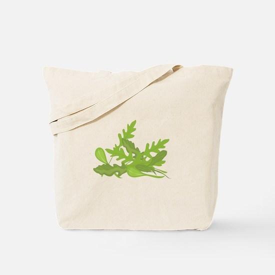 Arugula Greens Tote Bag