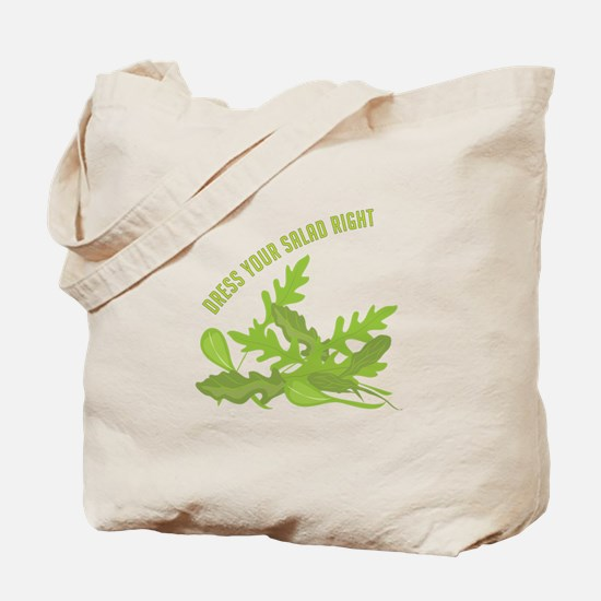 Dress Your Salad Tote Bag