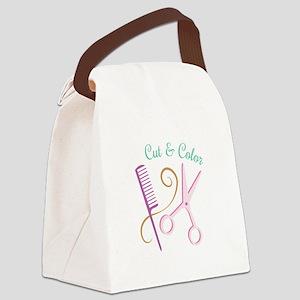 Cut & Color Canvas Lunch Bag